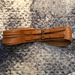 J crew leather belt